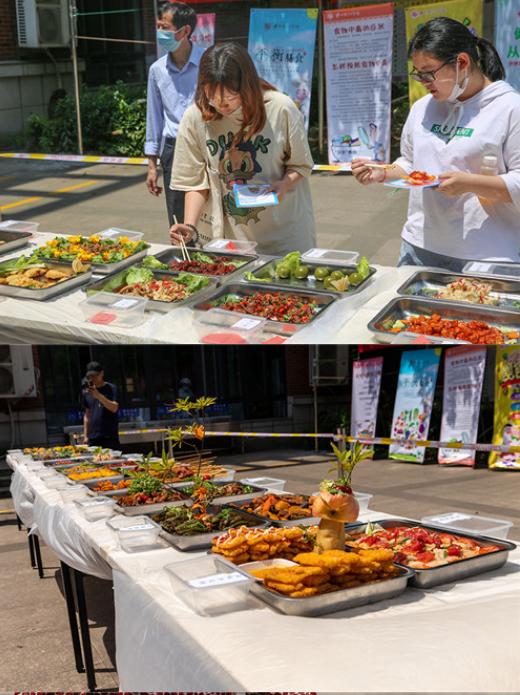 沙洲职业工学院| 合理膳食健体魄 营养就餐防疾病——学校举办第六届校园美食文化节系列活动