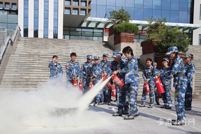 安徽中医药高专开展新生消防安全教育 筑牢校园防火墙